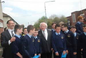 (54) President with Pupils from BNS